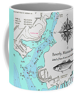 Salter's Point Map Coffee Mug