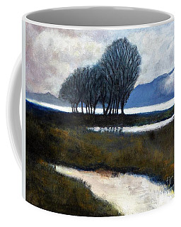 Salton Sea Trees Coffee Mug