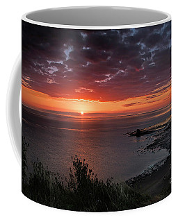 Saltwick Bay Sunrise  Coffee Mug