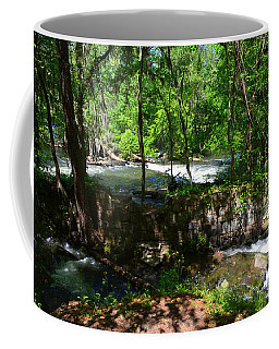 Coffee Mug featuring the photograph Saluda River Columbia Sc by Lisa Wooten