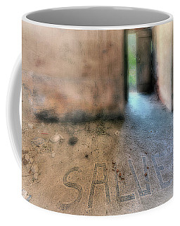 Coffee Mug featuring the photograph Salve - Welcome by Enrico Pelos