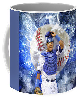 Salvy The Mvp Coffee Mug by Colleen Taylor