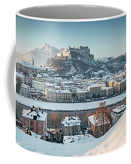 Salzburg Winter Morning Coffee Mug