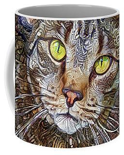 Sam The Tabby Cat Coffee Mug