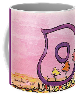 Samech And Flowers Coffee Mug