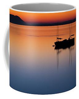 Samish Sea Sunset Coffee Mug by Tony Locke