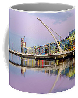 Samuel Beckett Bridge At Dusk Coffee Mug