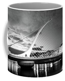 Samuel Beckett Bridge In Bw Coffee Mug