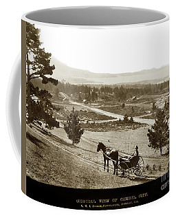 Samuel J. Duckworth Pauses To Look Upon What Would Become Carmel 1890 Coffee Mug