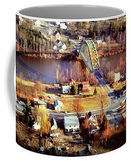 Samuel Morley Bridge Fairlee Vt To Orford Nh Coffee Mug