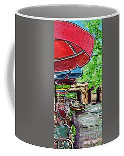 San Antonio River Walk Cafe Coffee Mug