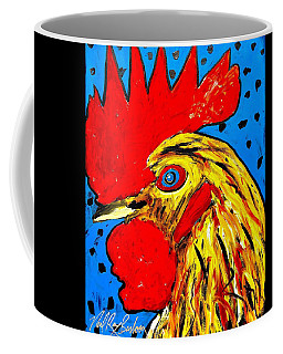 San Antonio Rooster Coffee Mug