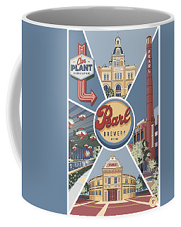 San Antonio's Pearl Coffee Mug