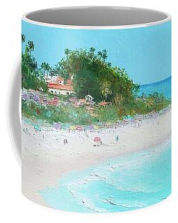 San Clemente Beach Panorama Coffee Mug