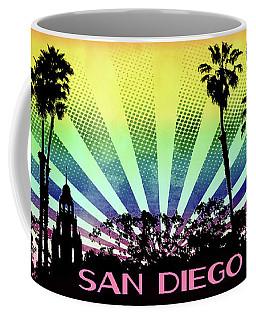 San Diego - Balboa Park Silhouette Coffee Mug