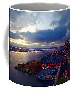 San Diego By Night Coffee Mug