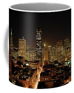 San Francisco At Night Coffee Mug