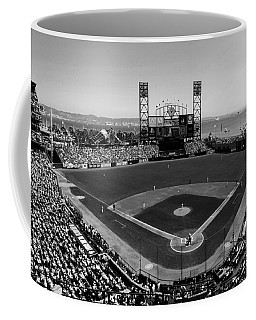 San Francisco Ballpark Bw Coffee Mug