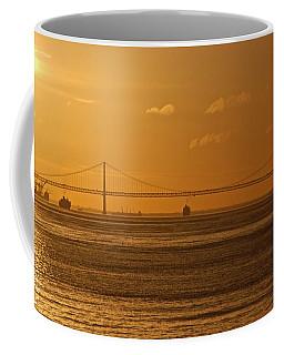 25 De Abril Bridge  Coffee Mug