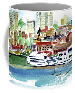 San Francisco Cityfront From Aquatic Park Coffee Mug