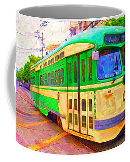 San Francisco F-line Trolley Coffee Mug