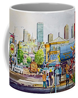 San Francisco Fisherman's Wharf Coffee Mug