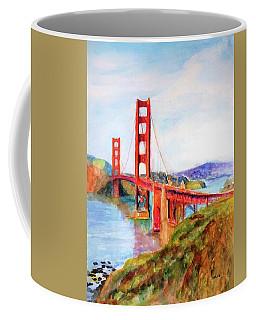 San Francisco Golden Gate Bridge Impressionism Coffee Mug