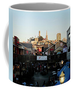 Coffee Mug featuring the photograph San Francisco In The Sun by Tony Mathews