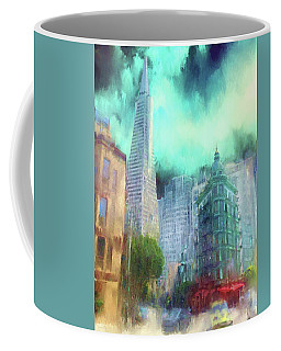 San Francisco Coffee Mug by Michael Cleere