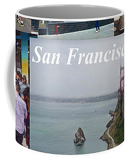 Coffee Mug featuring the photograph San Francisco Poster by Joan Reese