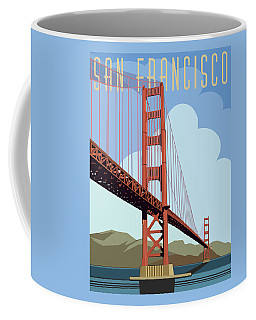 San Francisco Poster  Coffee Mug