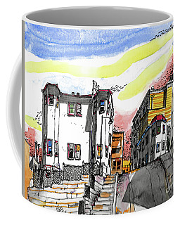 San Francisco Side Street Coffee Mug