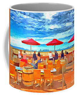 San Francisco Skyline From Alameda  Coffee Mug