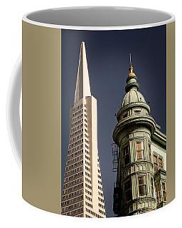 San Francisco Then And Now Coffee Mug