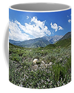 San Gabriel Mountains In Etiwanda Preserve-california  Coffee Mug