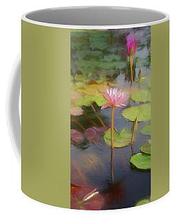 Coffee Mug featuring the photograph San Juan Capistrano Water Lilies by Michael Hope