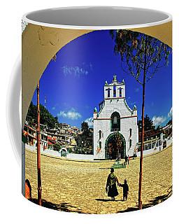 Coffee Mug featuring the photograph San Juan Chamula Church In Chiapas, Mexico by Sam Antonio Photography