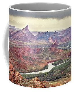 San Juan River And Mule's Ear Coffee Mug