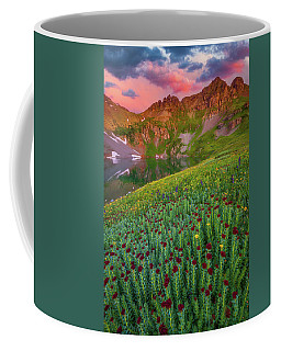 Coffee Mug featuring the photograph San Juan Sunrise by Darren White