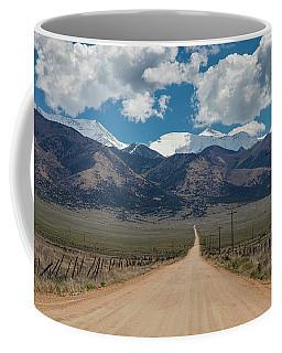San Luis Valley Back Road Cruising Coffee Mug by James BO Insogna