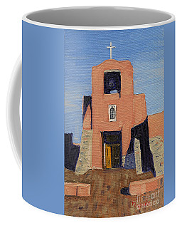 San Miguel Mission In Santa Fe Coffee Mug
