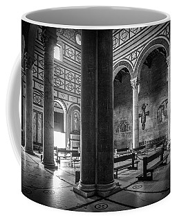 Coffee Mug featuring the photograph San Miniato Al Monte by Sonny Marcyan
