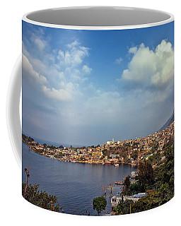 Coffee Mug featuring the photograph San Pedro La Laguna, Lake Atitlan, Guatemala by Sam Antonio Photography