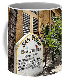 Coffee Mug featuring the photograph San Pedro Roman Catholic Church by Lawrence Burry