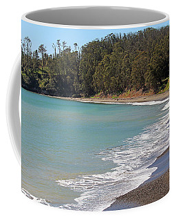 Coffee Mug featuring the photograph San Simeon Cove by Art Block Collections