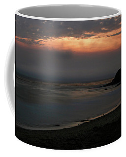 San Simeon Sunset 001 Coffee Mug