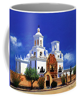 San Xavier Del Bac Mission Coffee Mug