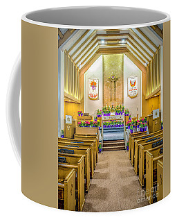 Coffee Mug featuring the photograph Sanctuary At Easter by Nick Zelinsky