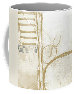 Sand And Stone 3- Contemporary Abstract Art By Linda Woods Coffee Mug