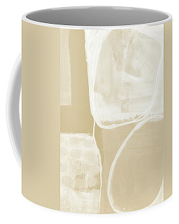 Sand And Stone 5- Contemporary Abstract Art By Linda Woods Coffee Mug